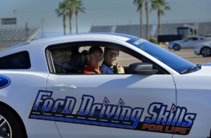 Teenagers and their parents are encouraged to join a fun course in Safe Driving