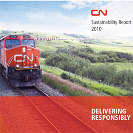CN Publishes Delivering Responsibility As Its Fifths CSR Report