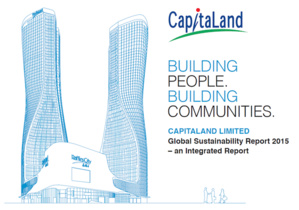2015 Sustainability Report of CapitaLand Is Now Out