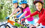 Foster Care Kids To Ride On Bikes Built & Donated by Jetblue's Team Members