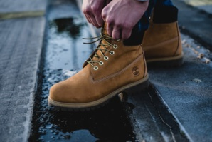 Timberland Fashions Shoes From Plastic Pollutants