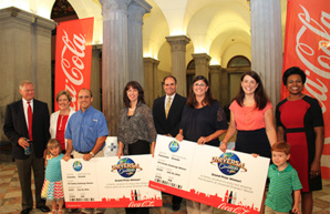 Coca-Cola promotes an active and healthy lifestyle Challenge for residents of South Carolina