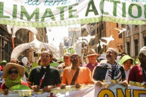 Citizens of Rome call for action on Climate Change
