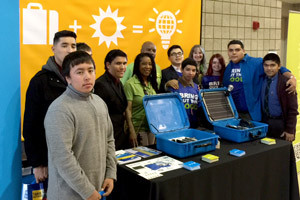 PG&E promotes a Solar suitcase program with the help of Green Tech