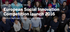 European Commission Invites Applications For 'European Social Innovation Competition' 2016