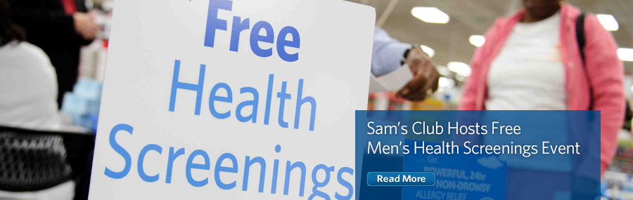 Sam's Club offers free screenings for Dads