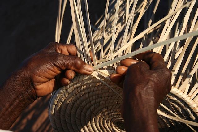 Zimbabwe's women take the lead through weaving baskets
