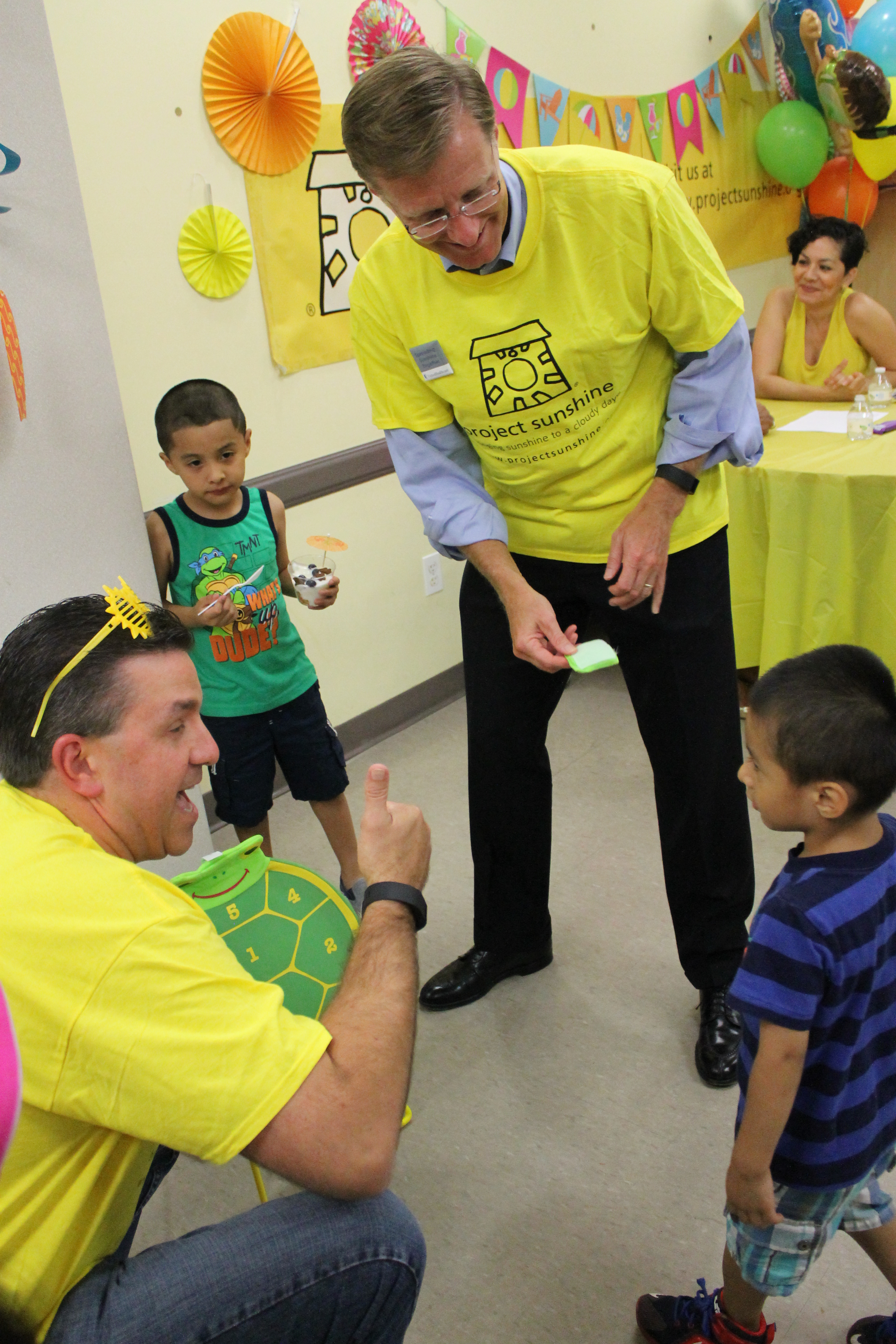 UnitedHealth's Project Sunshine's Party Time brings cheers in East Harlem Asthma Centre of Excellence
