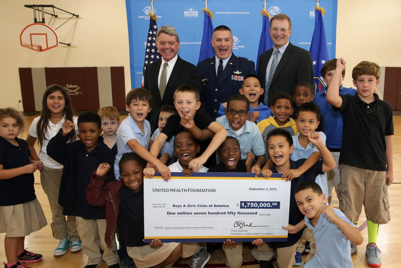 American Military Children Will Be Helped Through Grant Awarded To B.G.C.A