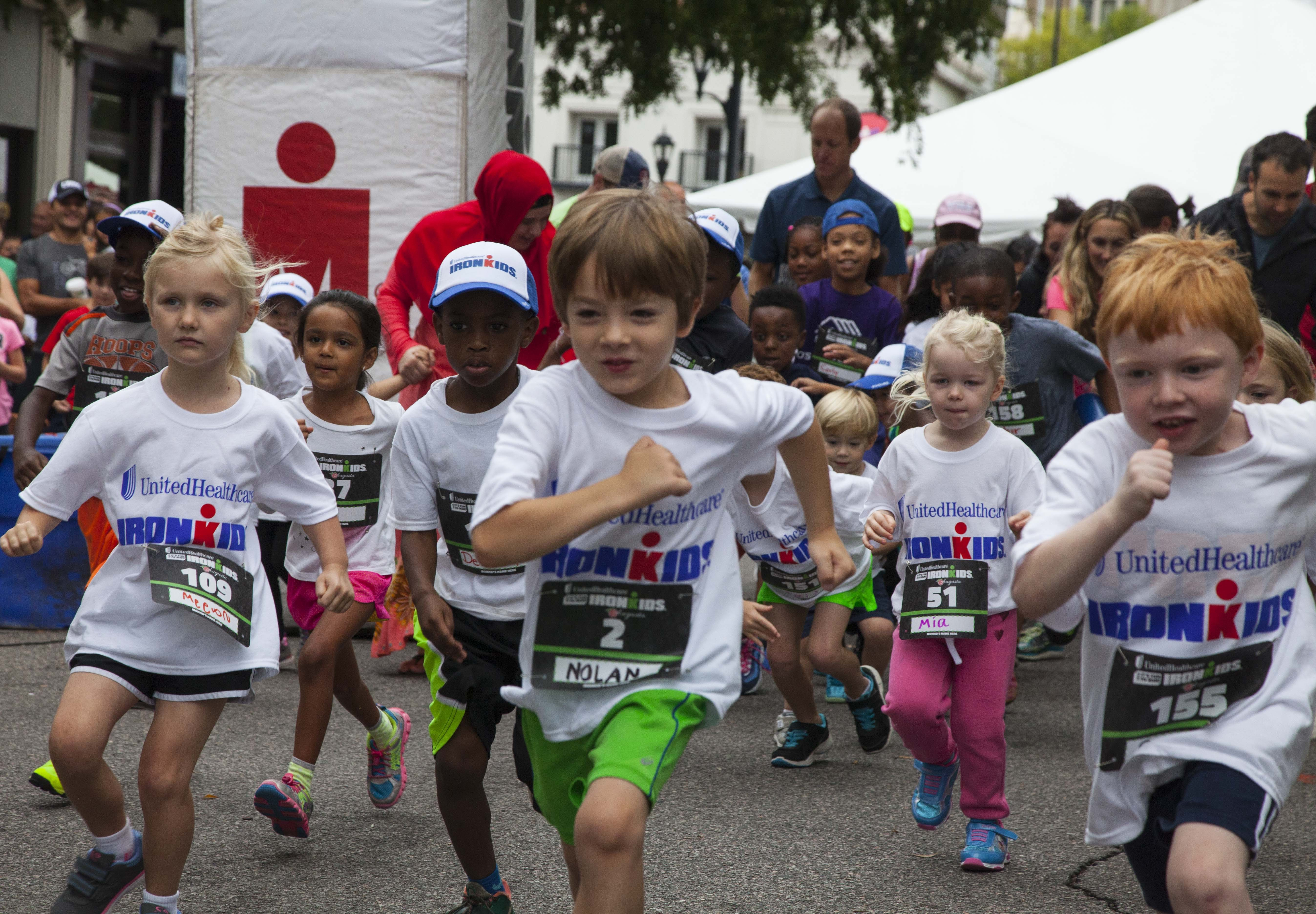 IRONKIDS's 'Augusta Fun Run' Supported By The UnitedHealthcare To Introduces A New Push Towards Healthy Life-Style