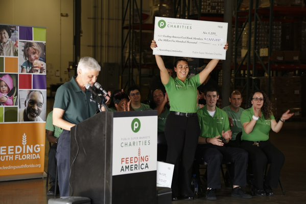 Feeding America Receives 'Generous' Donations From Publix Worth Over '$1.5 Million'