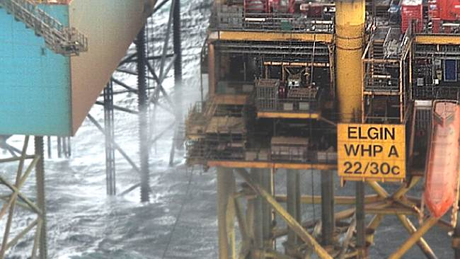 The Largest Gas Leak In North Sea Cost Total A Sum Of '£1.125 Million'