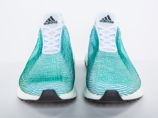 Adidas Moulds Marine Plastic Pollutants Into Trainer Shoes