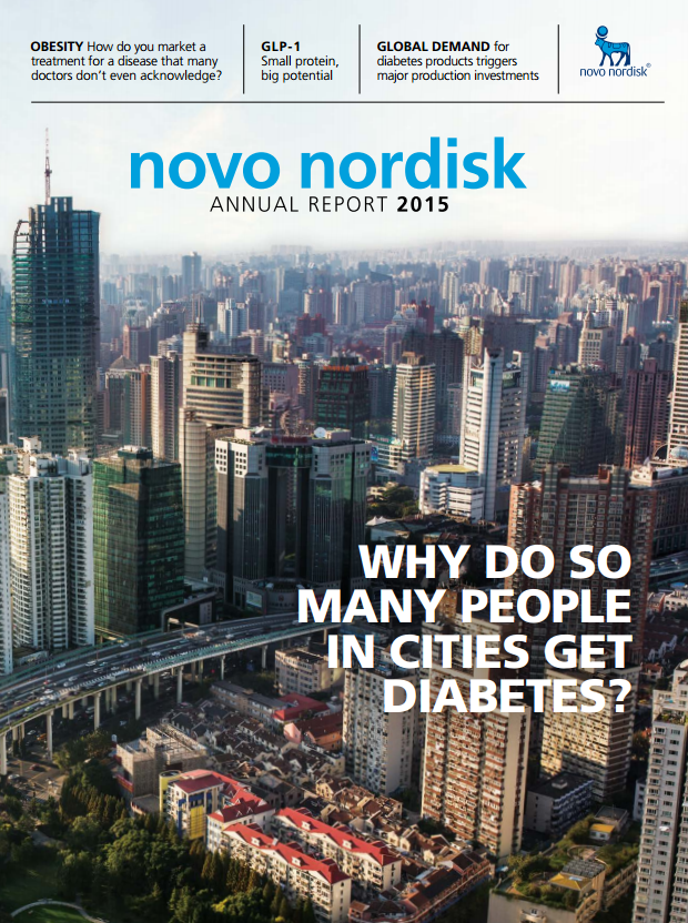 The Twelfth Integrated Annual Report Of Novo Nordisk Is Available