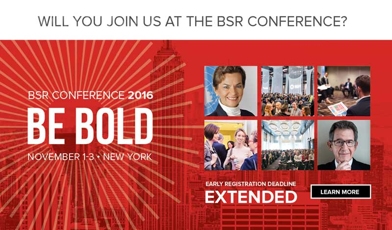 BSR Extends Deadline For Its Conference 2016 Registration