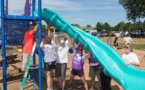 UnitedHealthcare and KaBOOM Volunteers Create A Playground For Milford's Children